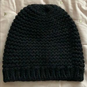 Wilfred Black Knit Hat from Aritzia O/S